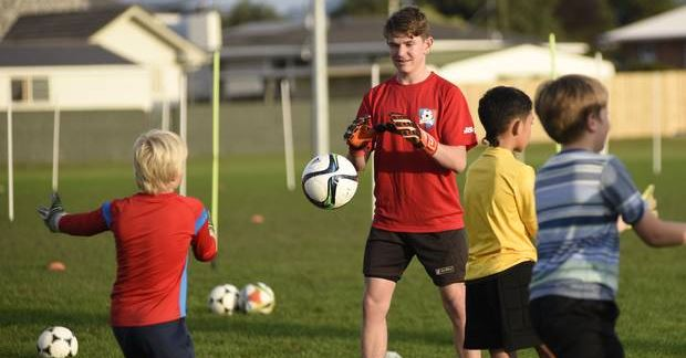 goalkeeper training camp tauranga